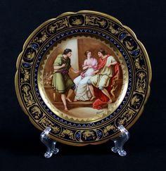 Royal Vienna Porcelain Cabinet Plate