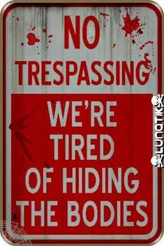 Need 4 the fence at my house Halloween Signs
