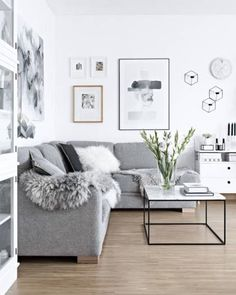 30 Stunning Scandinavian Design Interiors | Interiors | Living Room on