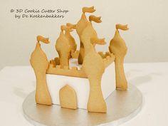 Castillo pastel decoración juego