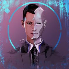 Detroit become human Connor By: givemtheolrazzledazzle (Hewwo)