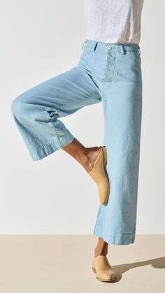 culotte I would like these if I could wear a loose top to hide my belly and not crazy about the light Jean color
