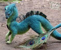 Cute Fantasy Creatures, Mythical Creatures Art, Cute Creatures, Magical Creatures, Needle Felted Animals, Felt Animals, Needle Felting, Game Of Thrones Gift, Dragon Nursery