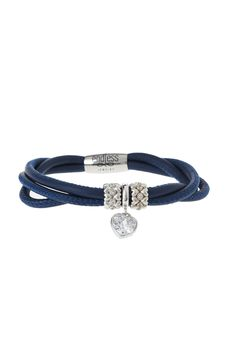 "Navy 3-string genuine leather bracelet from Endless Jewelry. Bracelet comes with 2 forever love charms and 1 eternity love charm.     Size 1= 7"" L; Size 2 = 7.5"" L; Size 3 = 8"" L; Size 4= 8.5"" L   Navy Endless Bracelet by Endless Jewelry. Accessories - Jewelry - Bracelets Philadelphia, Pennsylvania"