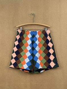 Knit Check Rugby Shorts – BODE New York