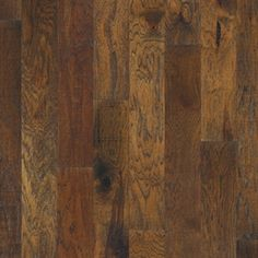 """Picture of Mannington Heirloom Hickory - Aged Bronze 5"""", call for pricing, dark brown hardwood, wide plank, 25 year warranty"""