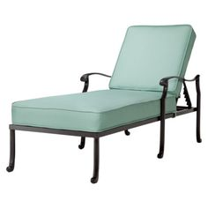 Smith & Hawken® Edinborough Metal Patio Chaise Lounge