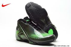 Nike Zoom Hyperflight PRM X-Ray Black/Poison Green Basketball Shoes