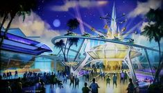 Image result for epcot architecture tron