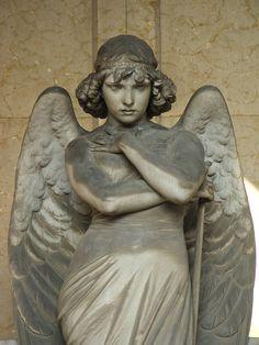 Giulio Monteverde, Genova-Cimitero di Staglieno, Angelo di tomba Francesco Oneto
