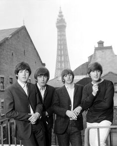 The Beatles, they way I like to picture them.