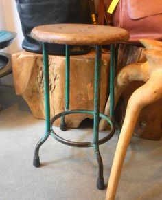 Old fashioned stool