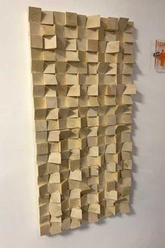 Pannelli acustici in Abete Music Studio Room, Home Studio, Wooden Wall Art, Wood Wall, Acustic Panels, Acoustic Diffuser, Diffuser Diy, Acoustic Design, Studio Build