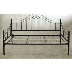 Daybeds, Daybed with Trundle, Daybeds for Sale Iron Furniture, Steel Furniture, Bedroom Furniture, Home Furniture, Furniture Design, Wrought Iron Chairs, Wrought Iron Beds, Daybeds For Sale, Metal Daybed