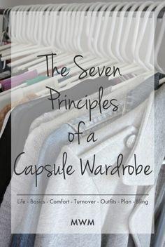 The seven secrets to a successful (and organized) seasonal capsule wardrobe.