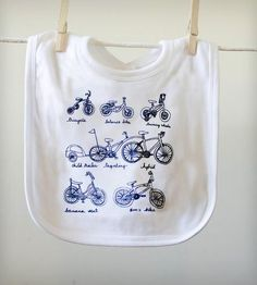 Cycles of Life Bib | Gifts Babies & Kids | Kite Flying Society | Scoutmob Shoppe | Product Detail