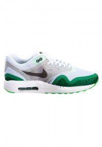 Online Bestellen Nike Air Max 1 BR Heren Hardloopschoenen Wit Grijs Groen Goedkoop