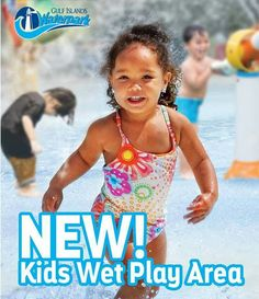 Only 7 days in to the New Year and we are already getting excited about the 2017 Season! All New Kids Wet Area! #GulfIsalndsWaterpark
