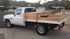 love the look and the flatbed