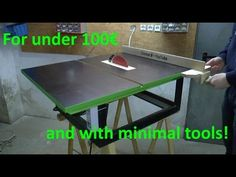 Building a Decent Table Saw for Cheap
