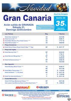 Gran Canaria, hasta 35% - Especial Navidad. Hoteles en Gran Canaria, salidas 21 y 22 Diciembre desde Granada - http://zocotours.com/gran-canaria-hasta-35-especial-navidad-hoteles-en-gran-canaria-salidas-21-y-22-diciembre-desde-granada/