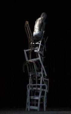 jerzy fober, szymon słupnik, 2008, drewno polichromowane