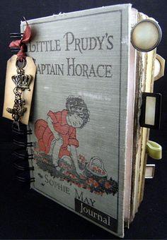 Travel Journal Tiny Journal StoryBook Journal by ScrapsOfTime