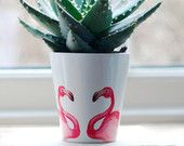 Fabulous Flamingo! by Louise and Laura Cox on Etsy