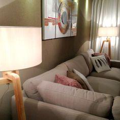 Lámpara de pie PUROS madera sin pantalla