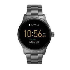 Smartwatch Fossil Q Masculino Grafite - FTW2108/1CI - timecenter - mobil #smartwatch Fossil Q Masculino Grafite - FTW2108/1CI - timecenter - mobile