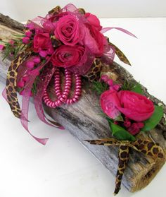 Unique Prom Corsages | Here's the actual corsage filled for a custom order, with baby pink ...