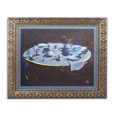 Table Setting by Lowell S.V. Devin Framed Painting Print