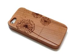 wooden iphone 5 case / iphone 5S case wood by CreativeUseofTech
