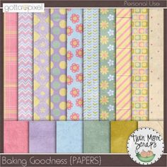 It's GOTTA GRAB IT time and TwinMomScraps has 8 coordinating packs for only $1 EACH! Sale ends August 13th. Baking Goodness PAPERS; http://www.gottapixel.net/store/product.php?productid=10003433=0=1. 10/08/2013