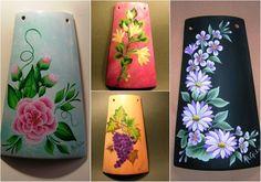 La tavolozza creativa: One - Stroke  25 e 26 maggio 2013 a Massafra realizzeremo queste bellissime tegole.