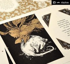 """5,672 Likes, 24 Comments - Teagan White (@teaganwh) on Instagram: """"Check out these risograph proofs from the amazing print studio @risolve!! I'm in love with the…"""""""