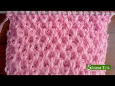 Knitting How To: Butterfly Stitch Knitting Paterns, Loom Knitting, Knit Patterns, Baby Knitting, Stitch Patterns, Knitting Help, Knitting Videos, Crochet Videos, Tunisian Crochet