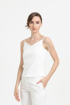 Shop effortless, minimalist & modern ready-to-wear here. We make quality & affordable fashion since We ship worldwide. Affordable Fashion, Basic Tank Top, Ready To Wear, Camisole Top, Spring Summer, Tank Tops, Model, How To Wear, Clothes