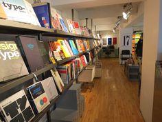 Good selection of design's books. NOTA BENE, Montreal.