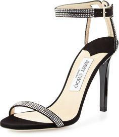 57ce69843768 Jimmy Choo Daisy Crystal-Studded Sandal