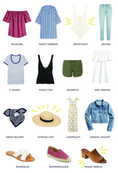 f0c43d408bd Wit   Delight Your 15-Piece Summer Capsule Wardrobe  wardrobeessentials   summertime  howtowear