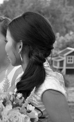 Wedding hair- Alexis Rogers