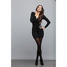 Sofia by Sofia Vergara Women's Ruched Ruffle Dress $30