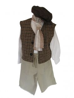 Boys Victorian Edwardian 'Oliver' Fancy Dress Costume Image