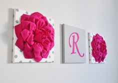 Pépinière Decor Initial lettres de pépinière de rose par bedbuggs