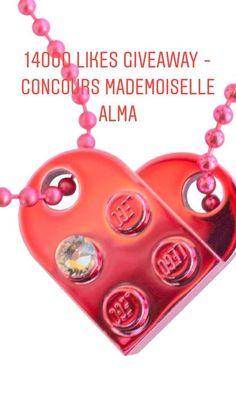 Mademoiselle Alma ❤ LEGO® bricks and SWAROVSKI® crystals Jewelry 💎   MademoiselleAlma   a148177a040a