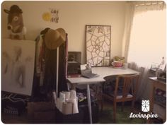 This is where it all happens - the lovinspire workshop.