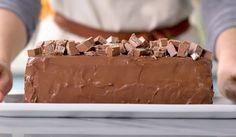 Torta Gelada Kitkat ... A sobremesa perfeita! (veja a receita passo a passo) - Receitas Nota 1000