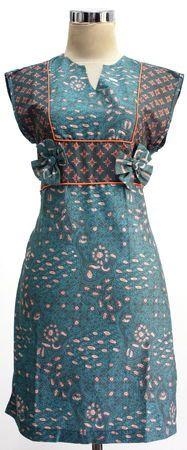 Modern Batik Dress Indonesia