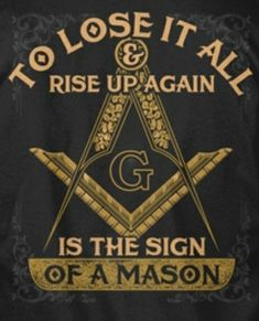 I am my Fathers daughter. A TRUE and respected Master Mason Masonic Signs, Masonic Art, Masonic Lodge, Masonic Symbols, Masonic Jewelry, Religious Symbols, Illuminati Symbols, Freemason Symbol, Reading